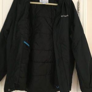 Men's Columbia winter jacket